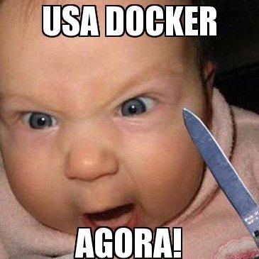 Desenvolvimento com Docker